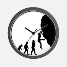 Rock Climbing Wall Clock