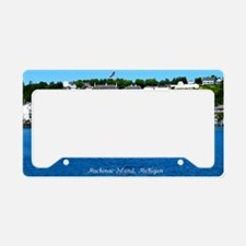 harborfortview2 License Plate Holder