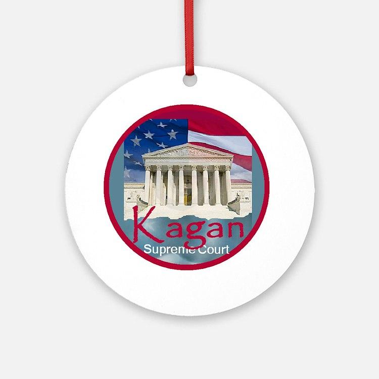 Kagan4 A Round Ornament