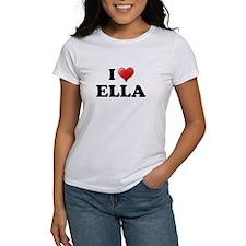 I LOVE ELLA T-SHIRT ELLA SHIR Tee