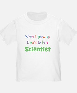 When I Grow Up Scientist T