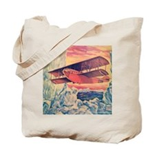 Tom Swift and his Flying Boat Tote Bag