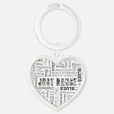 just-dance_bl Heart Keychain