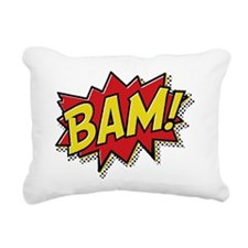 Bam hat Rectangular Canvas Pillow