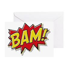 Bam hat Greeting Card