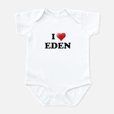 I LOVE EDEN T-SHIRT EDEN SHIR Infant Bodysuit