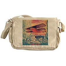 Flying Boat Messenger Bag