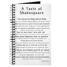 Shakespeare Apron Journal