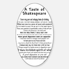 Shakespeare Apron Decal