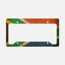 VintageSouthAfrica2 License Plate Holder