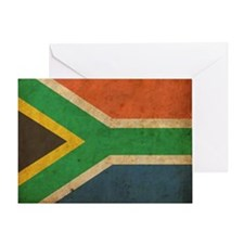 VintageSouthAfrica2 Greeting Card