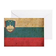 vintageSlovenia2 Greeting Card