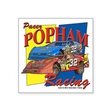 "D59 - Pacer Popham - Late M Square Sticker 3"" x 3"""