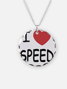 I_loveSPEED01 Necklace