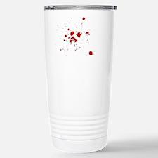 CAGE FIGHTER copy WHT Travel Mug