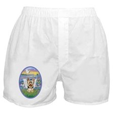 Lilies - Yorkshire Terrier 17 Boxer Shorts