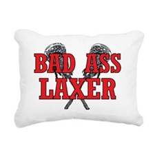 lacrosse Rectangular Canvas Pillow