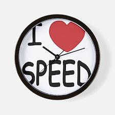loveSPEED01 Wall Clock