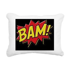2-Bam Pillow Rectangular Canvas Pillow