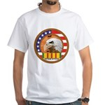 Vietnam Veterans White T-Shirt