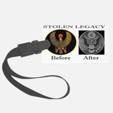 The Corruption of Heru Luggage Tag