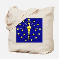 Indiana State Flag 1 Tote Bag