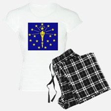 Indiana State Flag 1 Pajamas