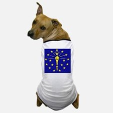 Indiana State Flag 1 Dog T-Shirt