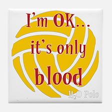 blood_bb Tile Coaster