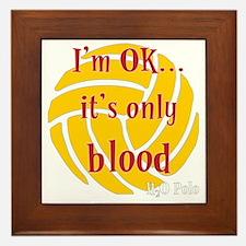 blood_bb Framed Tile