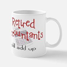 Retired Account Mug
