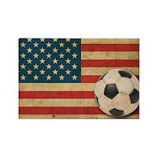 vintageAmerica3 Rectangle Magnet