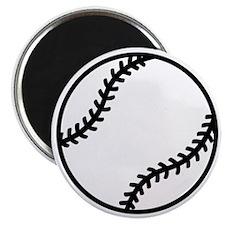 softball-one-color Magnet