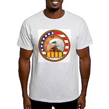 Vietnam Veterans Ash Grey T-Shirt