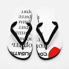 russian_front_black-both Flip Flops