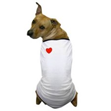 russian_front_white-both Dog T-Shirt