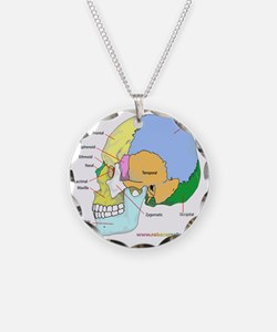Skull (lateral) Necklace