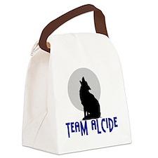 Team-Alcidewhite Canvas Lunch Bag