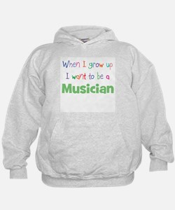 When I Grow Up Musician Hoodie