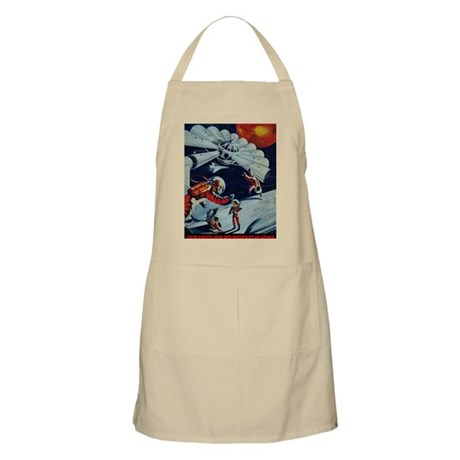 Outpost in Space Tom Swift Junior Apron