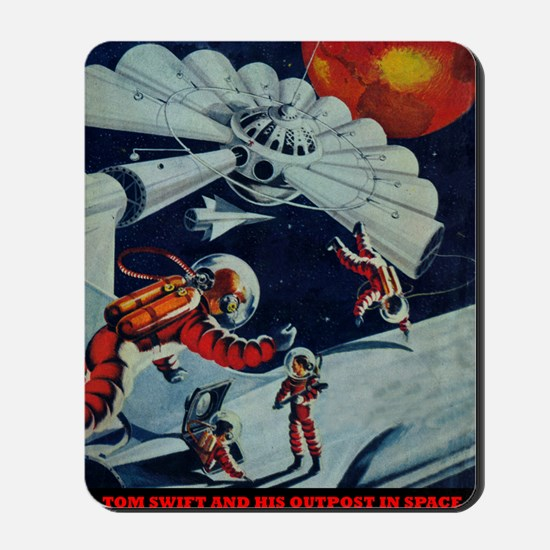 Outpost in Space Tom Swift Junior Mousepad