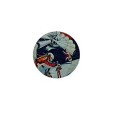 Outpost in Space Tom Swift Junior Mini Button