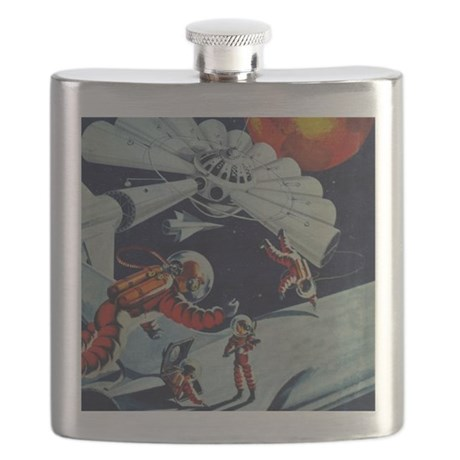 Outpost in Space Tom Swift Junior Flask