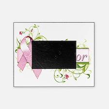 Survivor Floral Pink Picture Frame