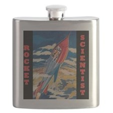 Rocket Scientist Flask