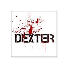 "Dexter 2 Square Sticker 3"" x 3"""