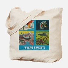 Tom Swift 4 adventures Tote Bag