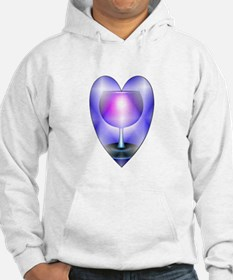 Ace of cups hearts Hoodie