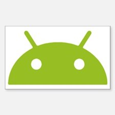 Google Android Head Decal