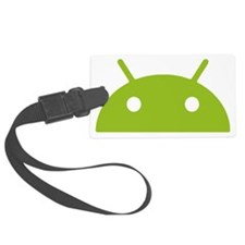 Google Android Head Luggage Tag